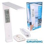 Candeeiro de Secretária LED 9W Calendário Bateria GRUNDIG - (06982)
