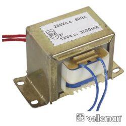 Transformador 42va 1x12V VELLEMAN - (112042C)