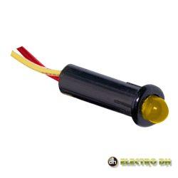 LED Piloto Alto Brilho Amarelo 5mm 12V Edh - (12.726/5/A)