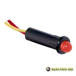 LED Piloto Alto Brilho Vermelho 5mm 12V EDH - (12.726/5/R)