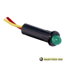 LED Piloto Alto Brilho Verde 5mm 220v EDH - (12.727/5/V)