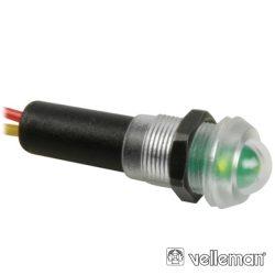 LED Piloto À Prova De Água 12V Verde VELLEMAN - (12VTG)