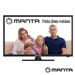 "TV LED 19"" HD HDMI USB Colunas 2X3W 220V/12V MANTA - (19LHN120D)"