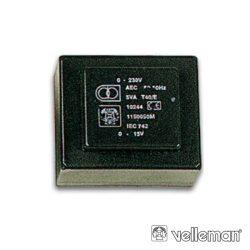 Transformador Encapsulado 1.8va 2 X 12V / 2 X 0.075a - (2120018M)