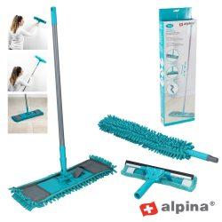 Conjunto De Limpeza C/ Mopa Microfibras 7 Peças Alpina - (ALP254)