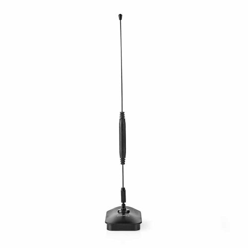 Antena Interior HDTV 0-5 km 5-7 dB UHF - (ANIR0502BK)