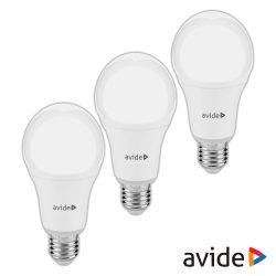 3 Lâmpadas LED E27 Globo 10W 230V 6400K 880lm AVIDE - (AVG27CW-10W-3P)