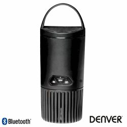 Coluna Bluetooth Portátil Preto DENVER - (BTS-51BLACK)