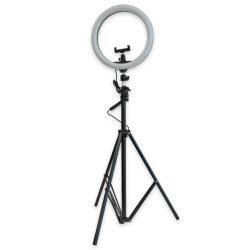 Ring Light Candeeiro de Estúdio 24W C/ Tripé Extensivel - (CAND-TRIP-01)