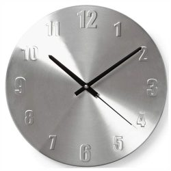 Relógio De Parede Analógico Alumínio 30cm - (CLWA009MT30)