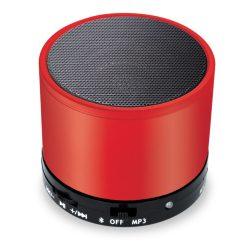 Coluna Bluetooth 3W BAT Vermelho - (COLBT03)