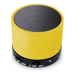 Coluna Bluetooth 3W BAT Amarelo - (COLBT04)