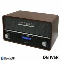 Rádio Bluetooth AM/FMppl/Aux/Mp3 Vintage DENVER - (DAB-36)