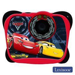 Câmara Digital 5mp C/ Lcd 17mb Cars Lexibook - (DJ134DC)