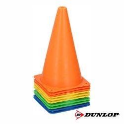 Conjunto de 10 Cones P/ Desporto DUNLOP - (DUN466)