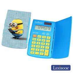 Máquina Calculadora 8 Dígitos Solar Minions Lexibook - (E413DES)