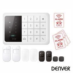 Alarme C/ Sensor Pir Cartão Gsm 850/900/1800 /1900mhz DENVER - (HSA-120)