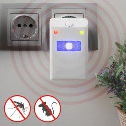 Repelente De Insectos E Roedores Eléctrico C/ LED - (INVG087)
