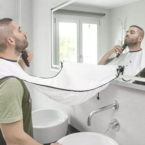 Babete para Barba c/ Ventosas - (INVG168)