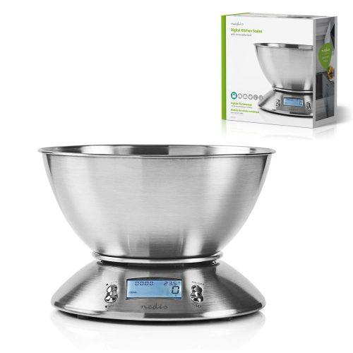 Balança Cozinha Digital 5kg C/ Alarme - (KASC111SI)