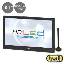 """TV LED Portátil 10.1"""" HD Dvb-T TREVI - (LTV2010HE)"""