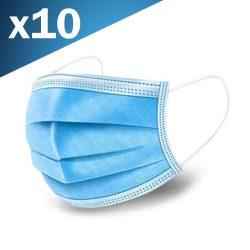 Máscara de Proteção Anti Bacteriana 3 Camadas - (MASK24)