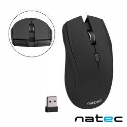 Rato Óptico S/ Fios 1000-1600DPI USB Preto NATEC - (NMY-0589)
