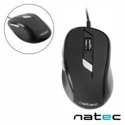 Rato Óptico 800-2400DPI USB Preto NATEC - (NMY-0667)
