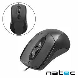 Rato Óptico C/ Fios 1000DPI USB Preto NATEC - (NMY-0877)