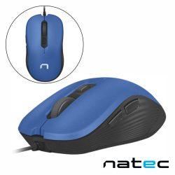 Rato Óptico C/ Fios 800-3200DPI USB Azul NATEC - (NMY-0919)