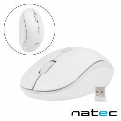 Rato Óptico S/ Fios 800-1600DPI USB Branco NATEC - (NMY-1191)