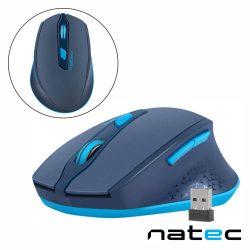 Rato Óptico S/ Fios 800-2400DPI USB Azul NATEC - (NMY-1424)