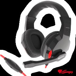 Auscultadores Gaming Preto ARGON 120 GENESIS - (NSG-1438)