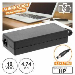 Alimentador P/ Hp 19V 4.74a 90W 4.8x1.7mm - (PSUP-NBT-HP01)