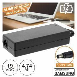 Alimentador P/ SAMSUNG 19V 4.74a 90W 5.5x3.0mm - (PSUP-NBT-SA01)
