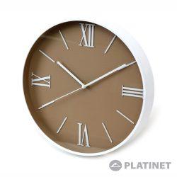 Relógio de Parede Analógico 29.5cm PLATINET - (PZJUL)