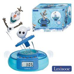 Relógio Despertador Frozen Lexibook - (RL985FZ)