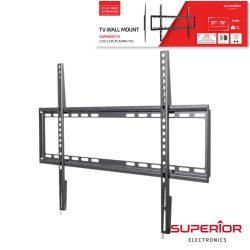 "Suporte Lcd/LED 37/70"" Fixo Slim Vesa 600/400 35kg - (SUP-3770FIXEDSLIM)"