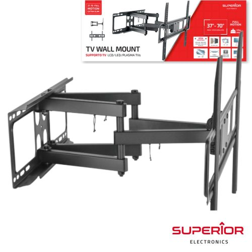 "Suporte LCD/LED/PLASMA TVs 37""-70"" Parede SUPERIOR - (SUP-TVWALL)"