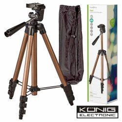 Tripé P/ Máquina Fotográfica/Filmar Em Alumínio - (TPOD2000BZ)