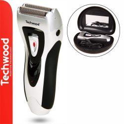 Máquina Barbear Portátil 3W TECHWOOD - (TRZ-108)