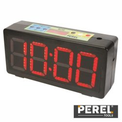 Relógio C/ Cronómetro Visor LED Perel - (WC200)