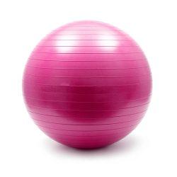 Bola de Ginástica Ø65cm Rosa - (WOZ-12)