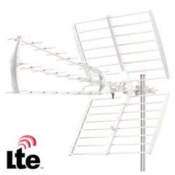 Antena Tdt Exterior Uhf 43 Elementos 18db Filtro Lte - (ZTL-233)